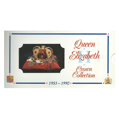 1953 - 1990 Queen Elizabeth II Crown Collection